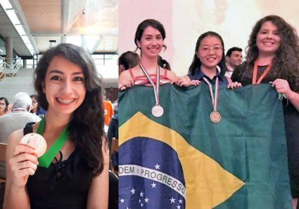 Brasileira de 17 anos tem 28 medalhas de matemática e um sonho