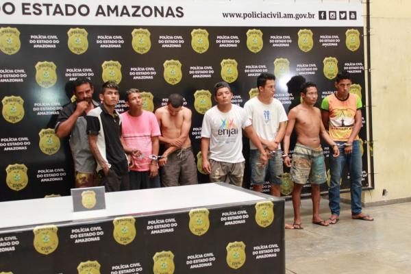 Operação policial prende 11 pessoas envolvidas em crimes no município de Iranduba, no AM