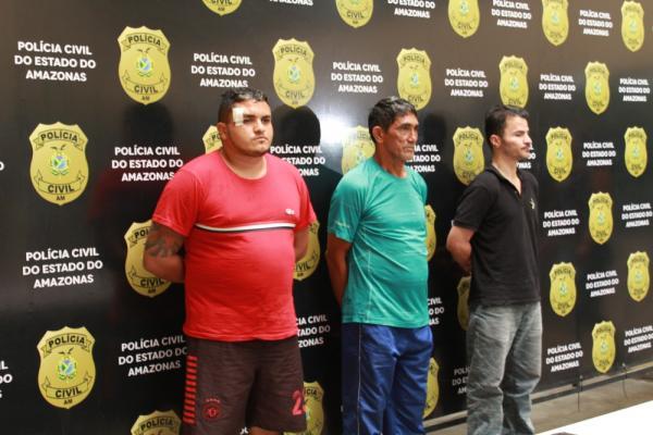 Especialista em roubo há 40 anos e dupla são presos suspeitos de furto na Zona Oeste de Manaus, diz polícia