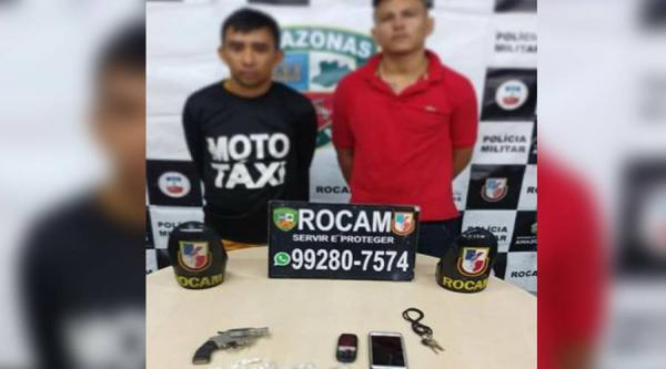 Dois homens são presos por tráfico de drogas na Zona Leste