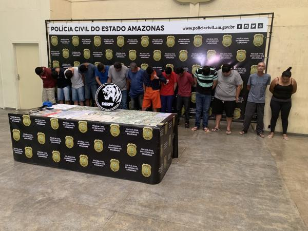 Quadrilha suspeita de revender carros alugados para outros estados é presa em Manaus