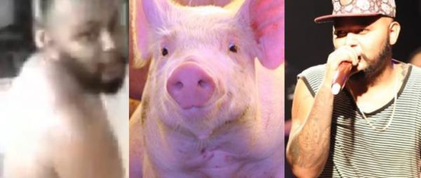'Não estuprei. Só fiz encostar mas não penetrou' diz cantor de forró que teve vídeo íntimo com porco vazado