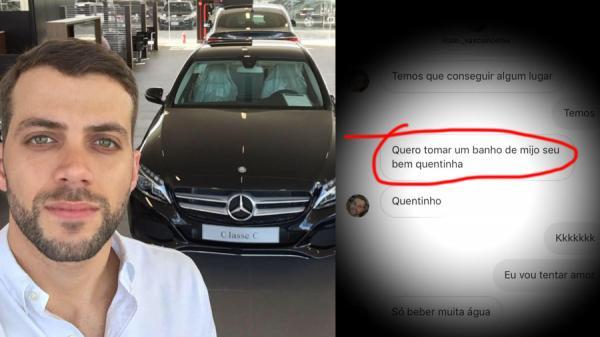 Conversa íntima de gerente da concessionária Mercedes-Benz em Manaus vaza e internautas não perdoam