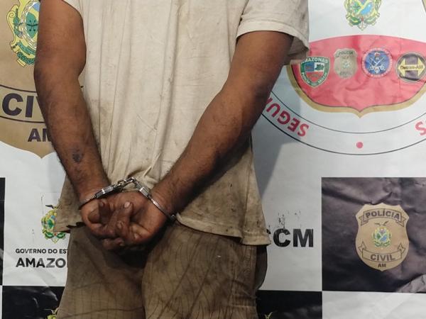 Homem é preso suspeito de tentar matar esposa durante discussão, em Manaus