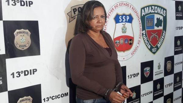 Suspeita de arquitetar morte de ex-marido por disputa de bens é presa em Manaus, diz polícia