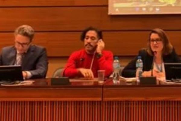 Embaixadora do Brasil na ONU e Jean Wyllys batem boca durante reunião