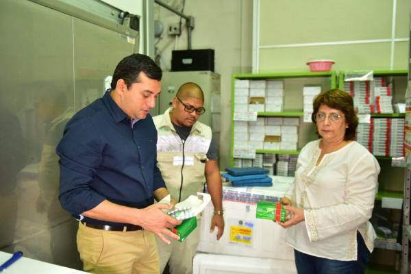 Vacinas contra H1N1 já estão em Manaus e Susam inicia distribuição no estado na quarta-feira (20)