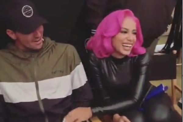 Gabriel Medina acompanha Anitta em gravação de clipe e Neymar diz que 'shippa'