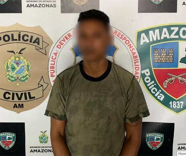 Foragido do sistema prisional de Rondônia é capturado em Manaus
