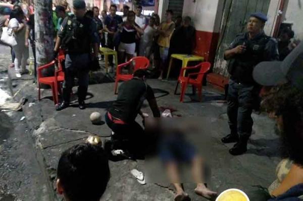 Tiroteio em bar deixa morto no Centro de Manaus