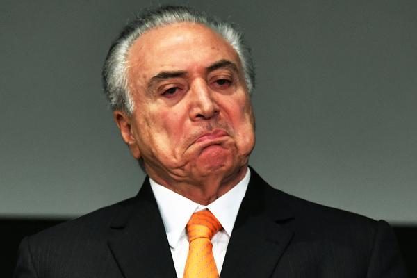 O presidente Michel Temer (PMDB) participa do Fórum Brasil de Investimentos 2017, em São Paulo - 30/05/2017 (Nelson Almeida/AFP)