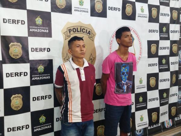 Dupla é presa suspeita de roubar R$ 80 mil em ouro no Centro de Manaus