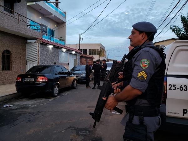 Polícia deflagra operação de combate ao tráfico de drogas na Zona Centro-Oeste de Manaus