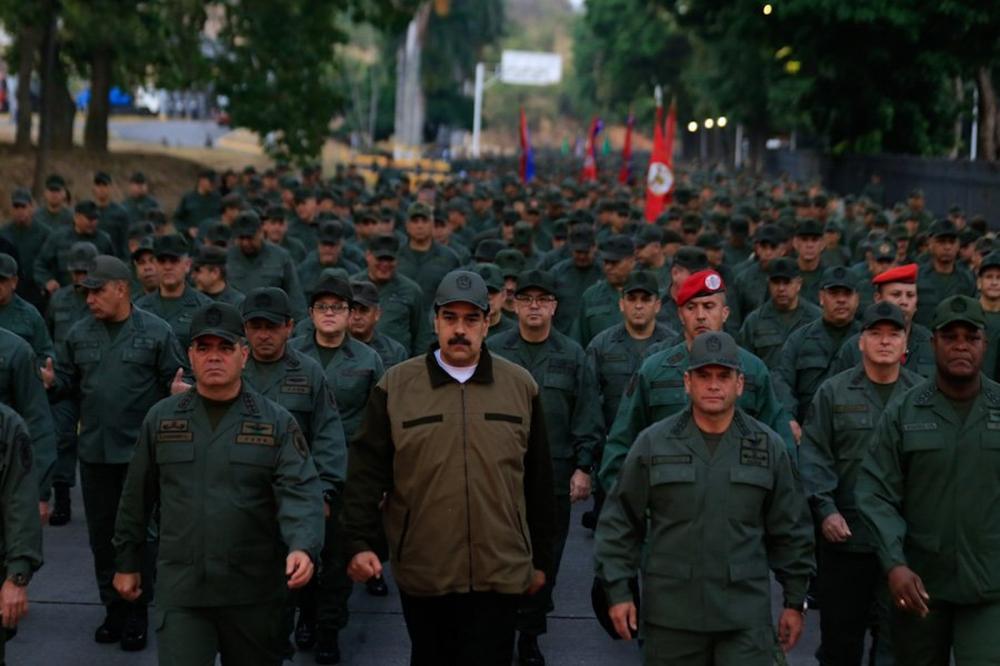 Divulgação/ Ministério Defesa da Venezuela