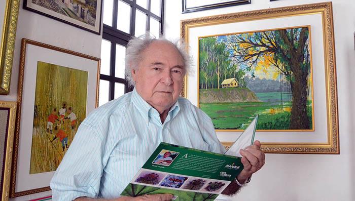 Morre, aos 89 anos, o artista plástico amazonense Moacir Andrade