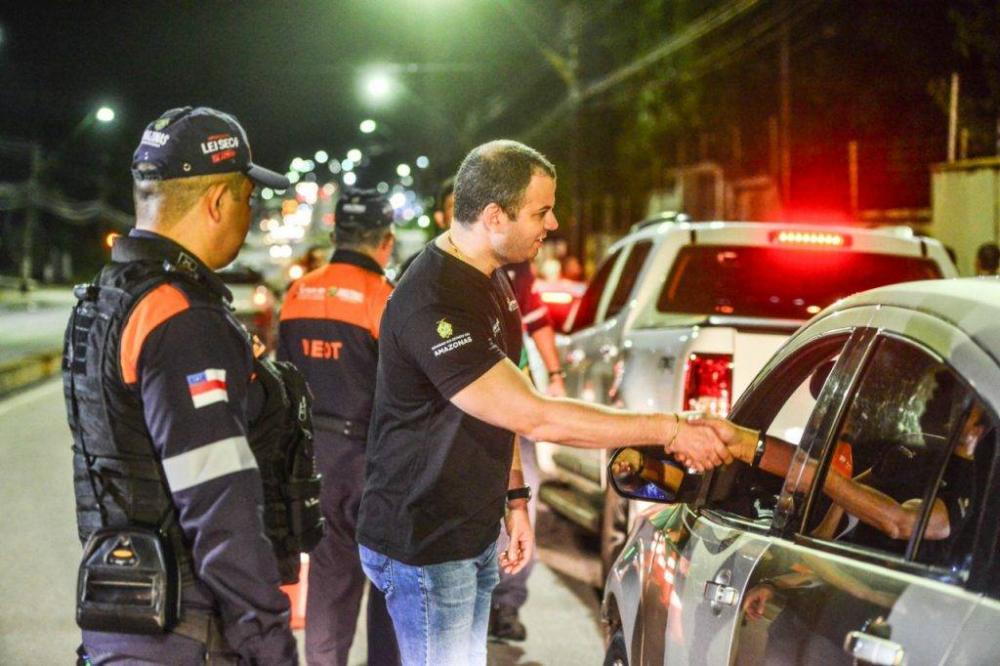 O Carnaval também requer uma programação maior das forças policiais do Detran Amazonas | Fotos: Divulgação Detran/AM