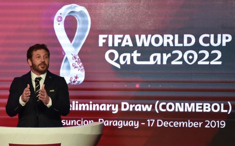 Conmebol pede à Fifa adiamento do início das eliminatórias da Copa de 2022