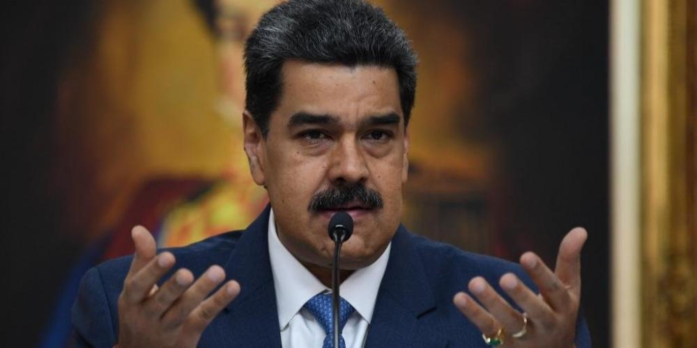 Maduro foi acusado pelo governo dos EUA | Foto: Yuri Cortez / AFP / CP