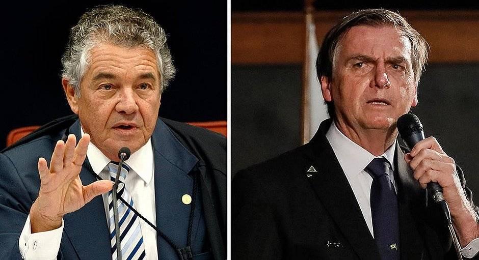 O ministro do Supremo Tribunal Federal (STF) Marco Aurélio Mello encaminhou pedido afastamento do presidente Jair Bolsonaro (sem partido) à procuradoria-geral da República | Foto: reprodução