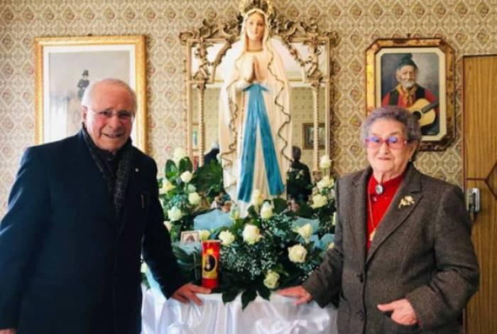 Após 82 anos juntos, casal morre com uma semana de diferença vítima da covid-19