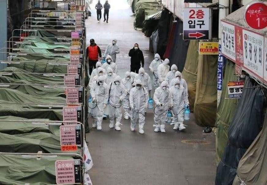 Coreia do Sul não registra nenhum caso de contágio local por coronavírus