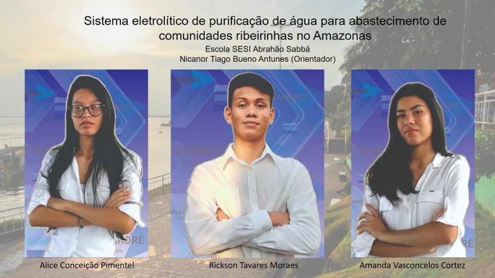AM é um dos finalista da Feira Brasileira de Ciência e Engenharia da USP