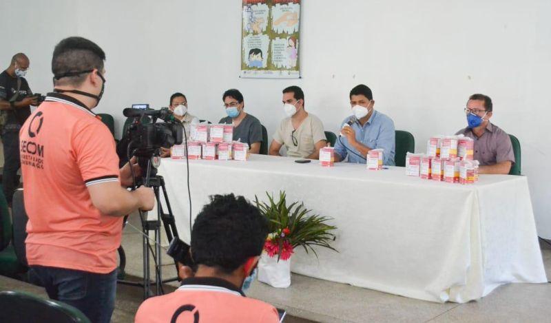 Pacientes com coronavírus vão receber medicamentos da Prefeitura, em Parintins