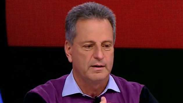 Presidente do Flamengo nega qualquer alinhamento político e afirma: 'O Brasil está doente e não é de Covid-19'