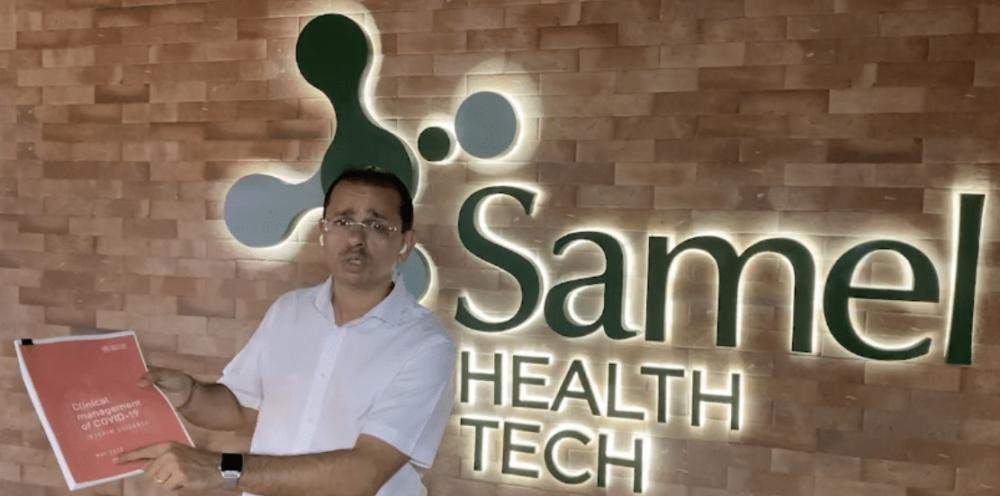 OMS confirma que tratamento da Samel é o mais eficaz contra o coronavírus