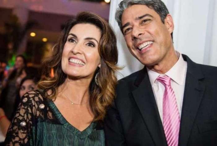 Fátima Bernardes elogia entrevista de Bonner a Bial