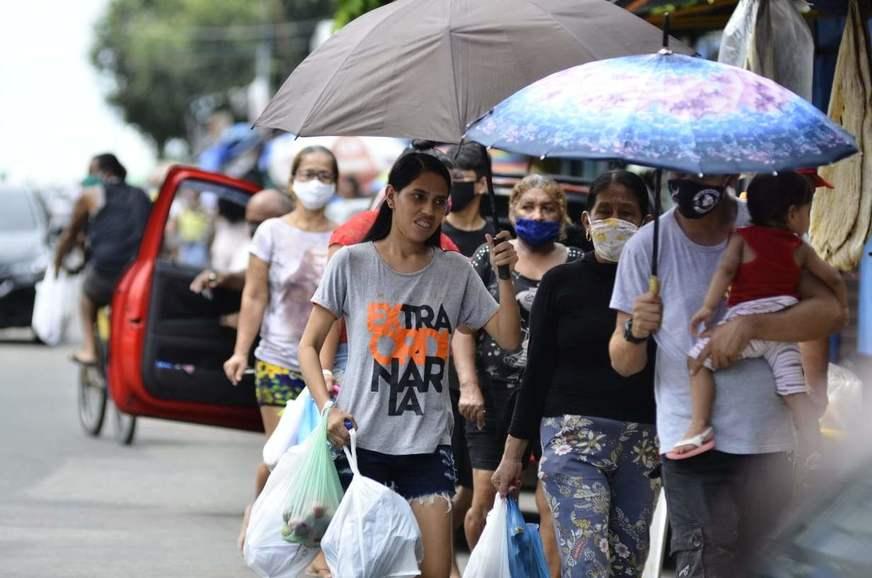 Na volta do comércio, Manaus tem o menor isolamento social desde 16 de março