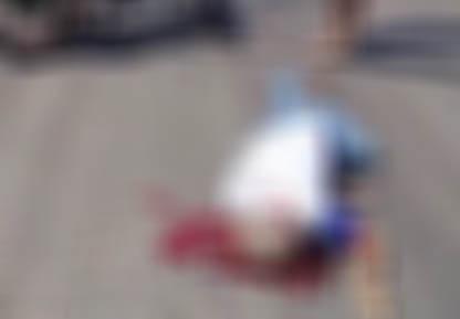 Idoso morre ao bater moto em buraco de avenida do Distrito Industrial