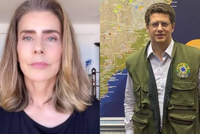 'Só há plano para destruir', dispara Maitê Proença sobre Bolsonaro e Ricardo Salles