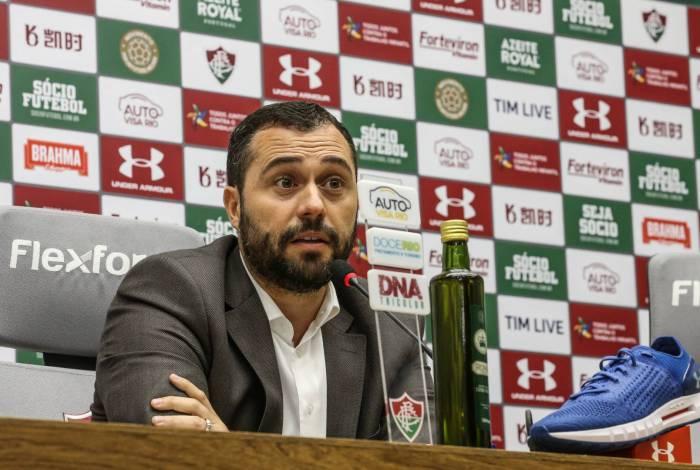 Mário reforça que Fluminense não jogará em junho e afirma que não vai atuar no Maracanã