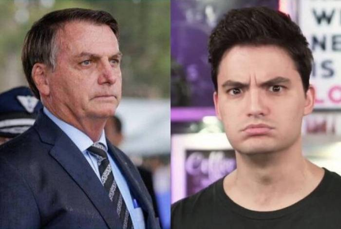 Felipe Neto critica quem está agourando Bolsonaro por conta da Covid-19