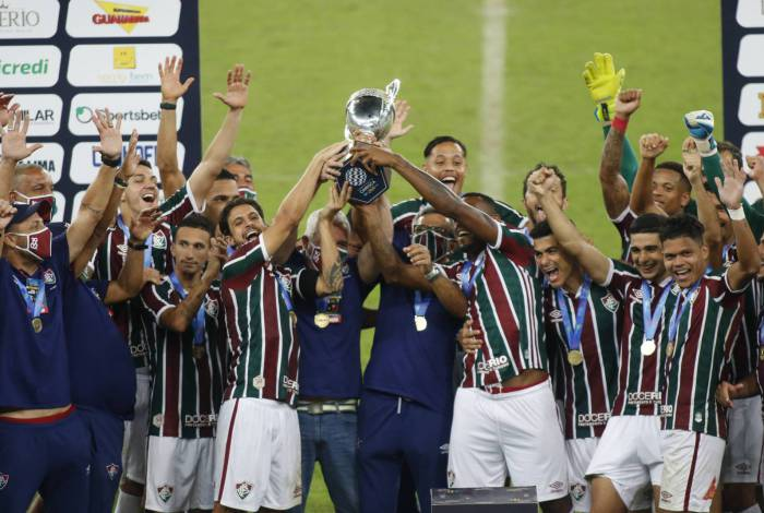 Fluminense vence o Flamengo nos pênaltis e fatura a Taça Rio