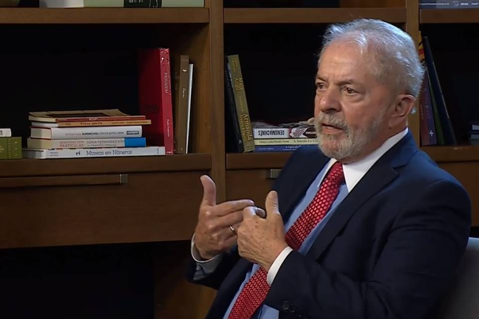 """Lula: """"Dizer que o PT é responsável pelo Bolsonaro é uma heresia"""""""