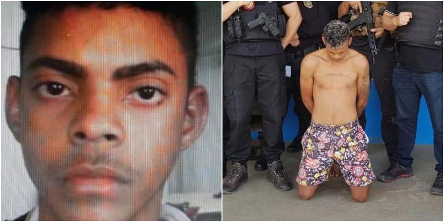 """""""Olhão"""" é preso após matar namorada com tiro na cabeça em Manaus"""