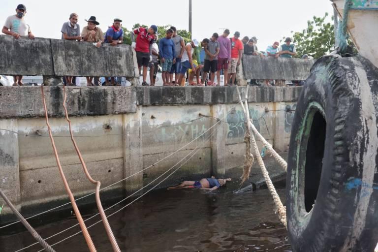 Corpo de carregador é encontrado às margens do Rio Negro