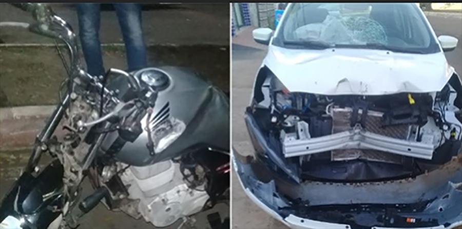Na contramão, mototaxista é atingido por carro e morre em Manacapuru