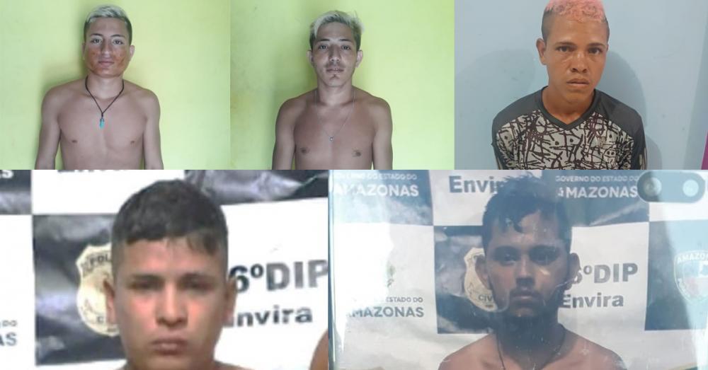 Detentos atacam carcereiro e fogem de delegacia no Amazonas
