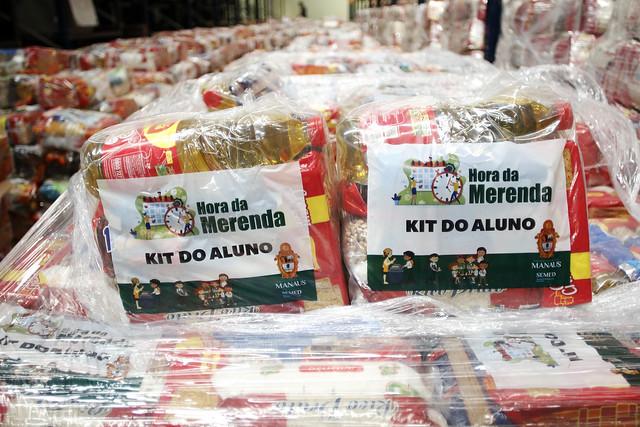 'Hora da Merenda' inicia entrega de kits para alunos de creches e Cmeis