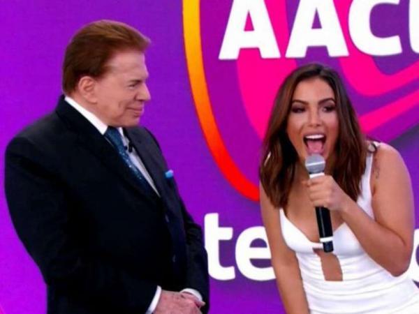 Silvio Santos nega convite de Anitta para dançar: 'Fico muito excitado'