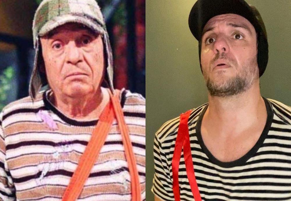 Vestido de Chaves, Rodrigo Lombardi lamenta série fora do SBT