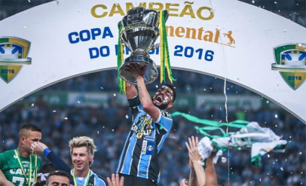 Grêmio empata mais se torna o campeão da Copa Brasil