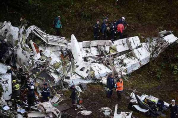 Tragédia com avião da Chapecoense pode virar série