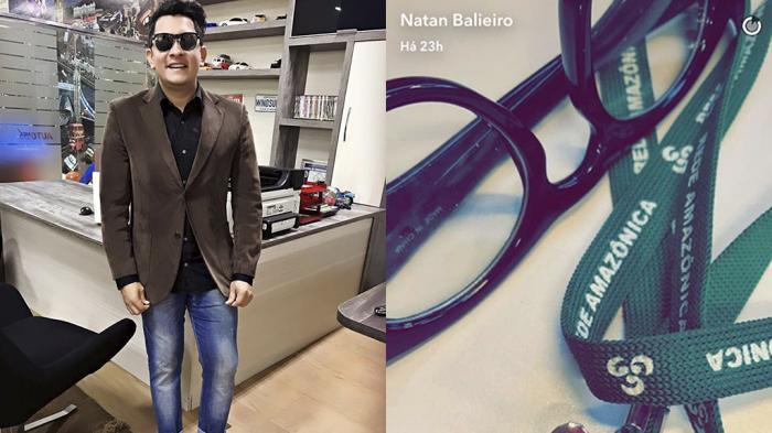Natan Balieiro faz post misterioso e pode estar a caminho da Rede Amazônica