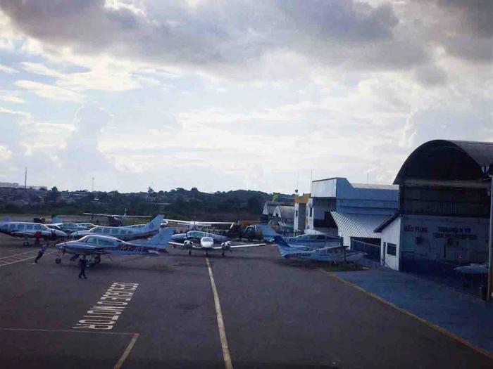 Moradores acionam MPF para retirada do aeroclube da área urbana de Manaus