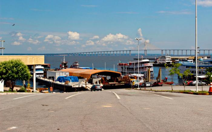 Em Manaus, porto do São Raimundo vai receber mais de R$ 1 mi para serviços de ampliação