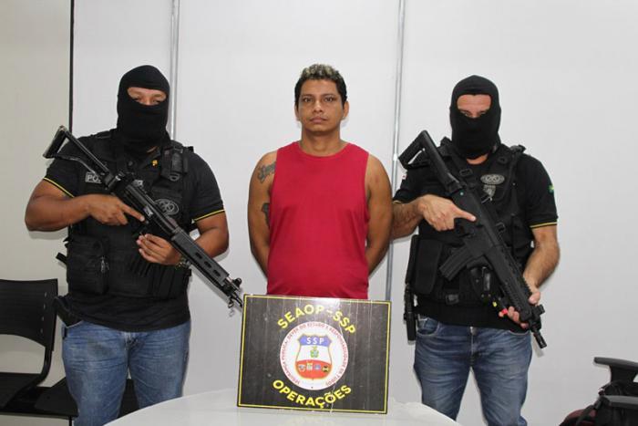 Fugitivo do Compaj é preso na Zona Norte de Manaus